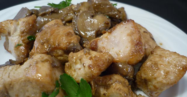 Turkey With Mushrooms